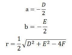 一般方程与标准方程的关系