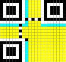 矩阵式二维码